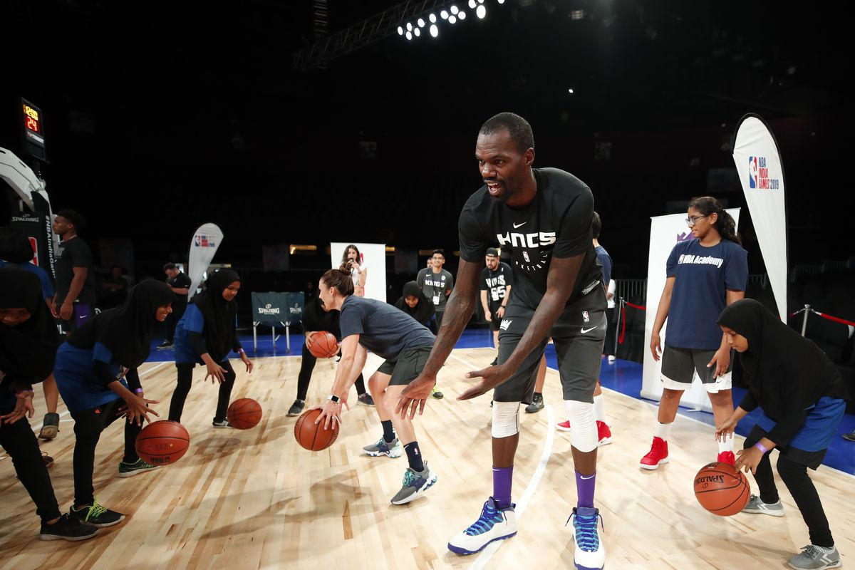 2019 NBA Global Games - India NBA Cares Clinic