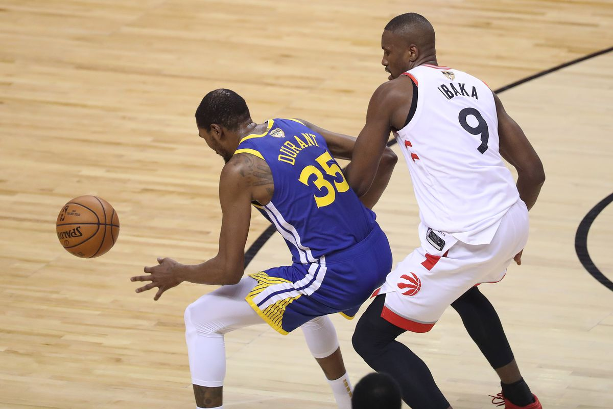 Toronto Raptors lose to the Golden State Warriors in game five of the NBA Finals