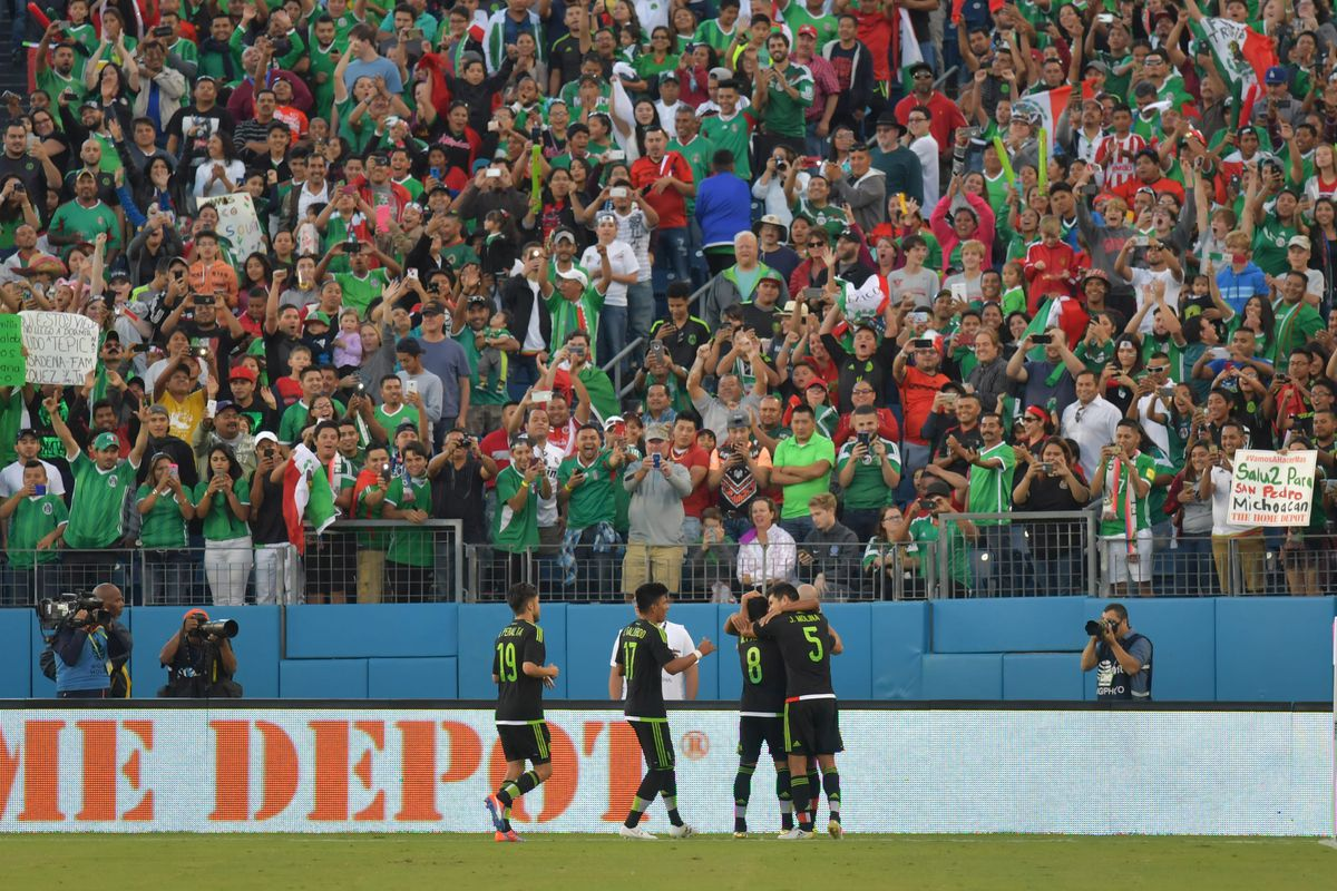 Soccer: Mexican National Team vs New Zealand