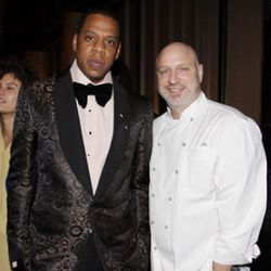 """Jay-Z is a big <i><a href=""""http://ny.eater.com/archives/2011/03/following_english_colicchio_makes_medieval_food_for_hbo.php"""" rel=""""nofollow"""">Game of Thrones</a></i> fan, apparently. (<a href=""""http://www.rap-up.com/2010/02/14/jay-z-lebron-james-host-4th-ann"""
