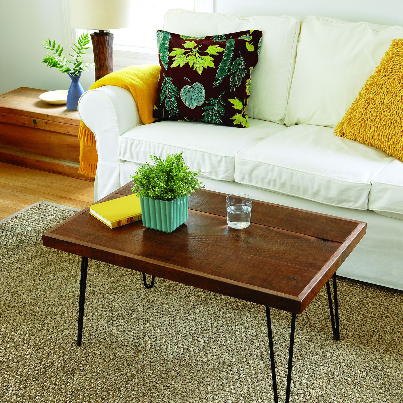 How To Build A Hairpin Leg Coffee Table This Old House