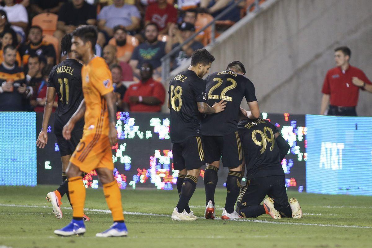 MLS: Los Angeles FC at Houston Dynamo