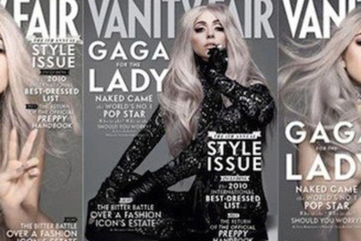Vanity Fair Releases Alternate Lady Gaga September Cover Options Racked