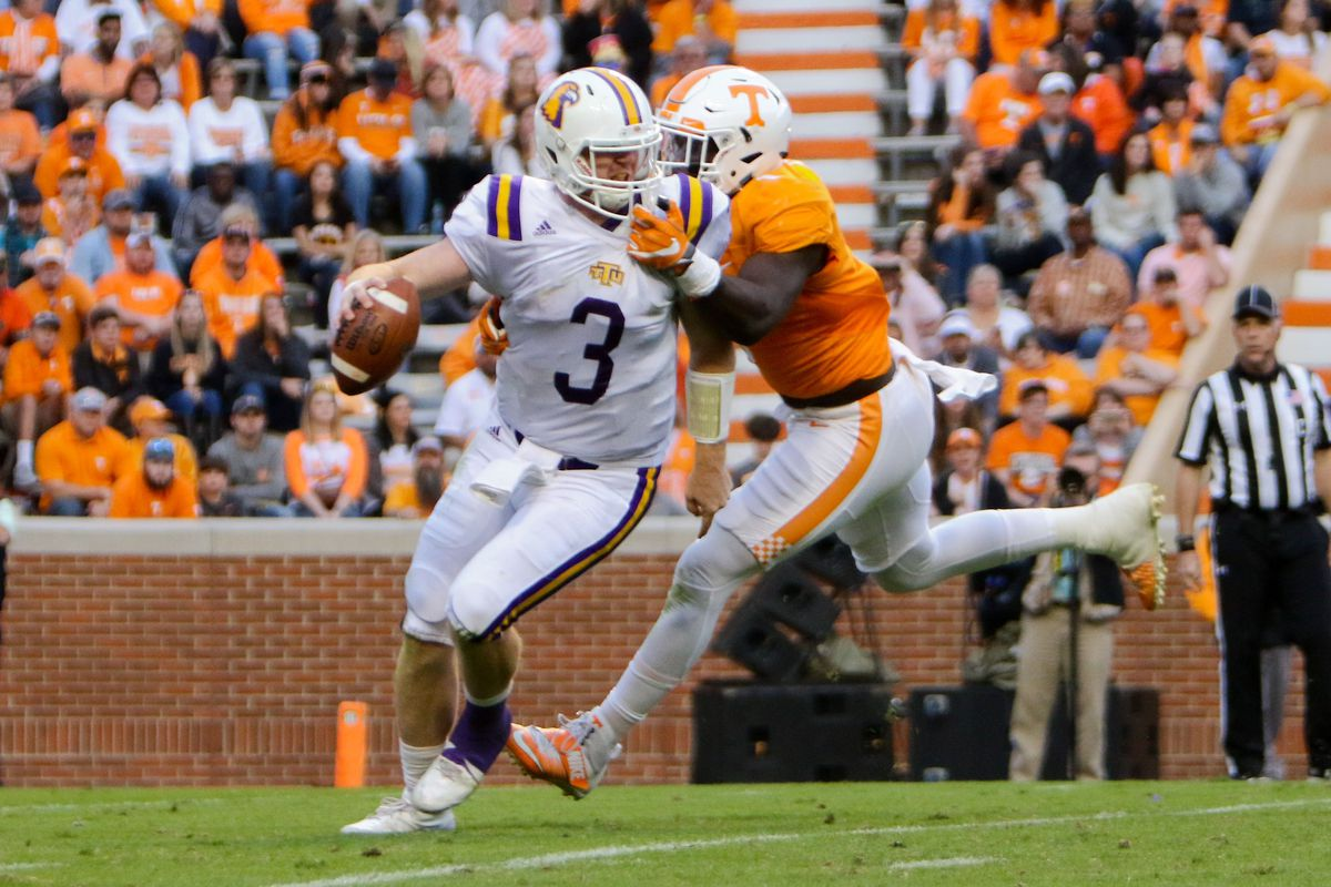 NCAA Football: Tennessee Tech at Tennessee