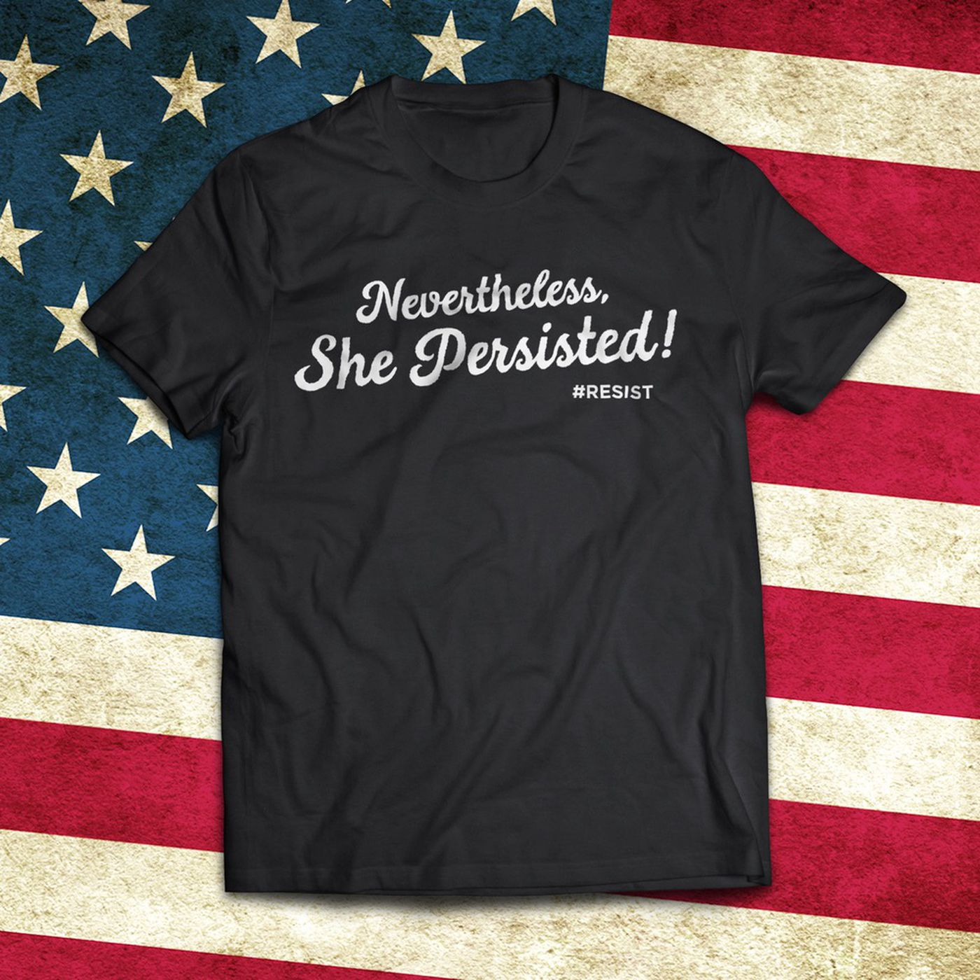 08bc38687 How 'Nevertheless, She Persisted' Went from Mitch McConnell's Lips to T- Shirts Everywhere