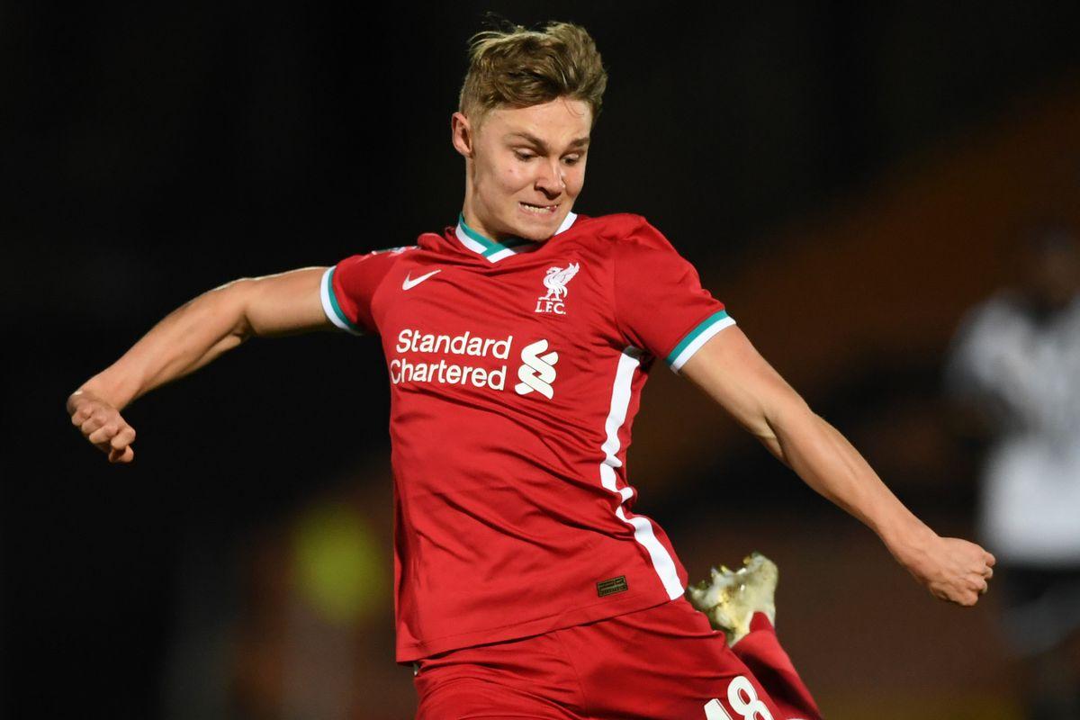 Port Vale v Liverpool U21 - EFL Trophy
