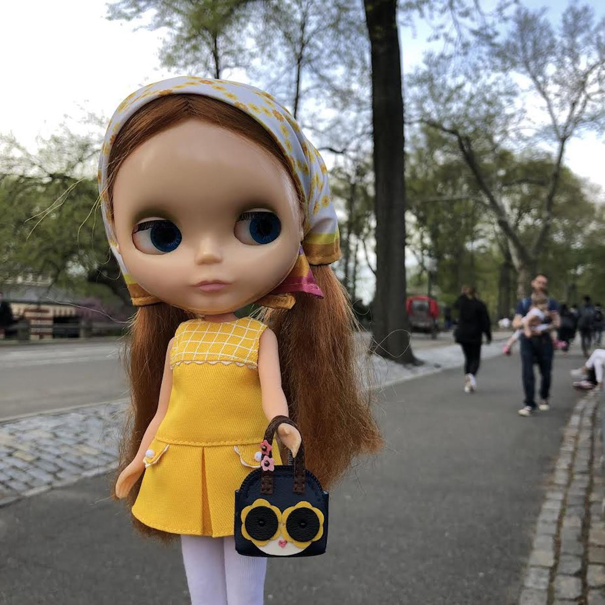 """""""There's something innocent and sweet"""" about Blythe dolls, said artist Sarah Thompson, who customizes the dolls for sale through her Etsy shop BunnyGirlBlythe."""
