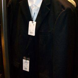 Men's slim long-sleeved shirt, $49.90