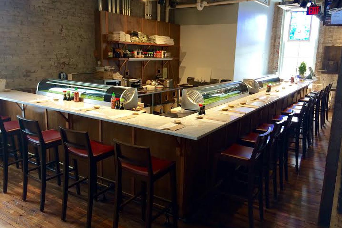 Sam's Sushi Bar's new home at Acme Feed & Seed