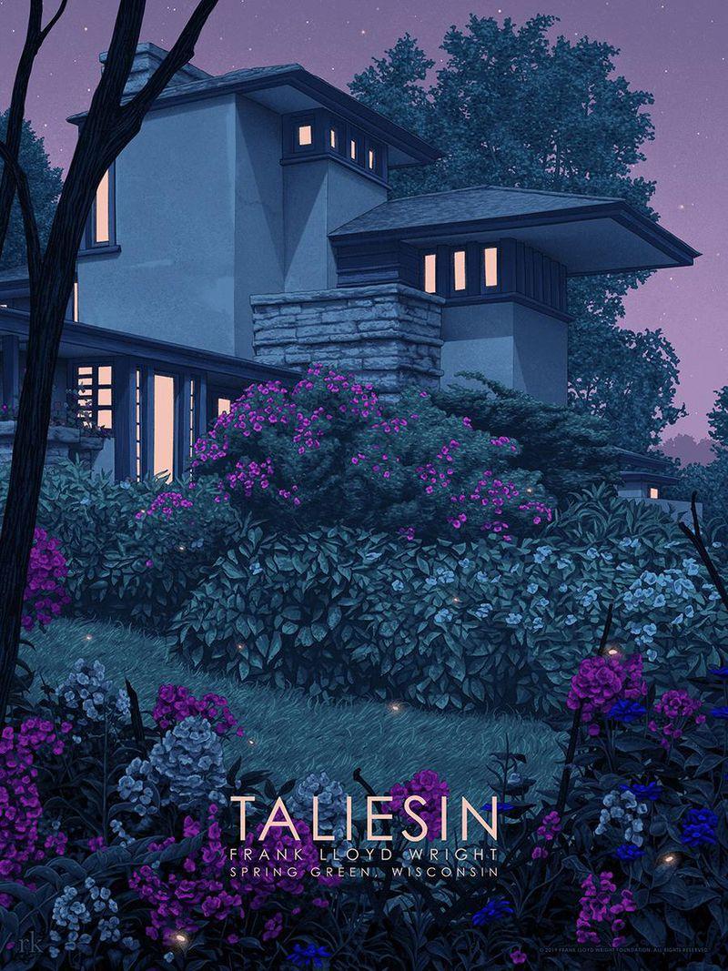 Taliesin East illustrated