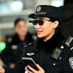 c5b2216430 Chinese police are using facial recognition sunglasses to track ...