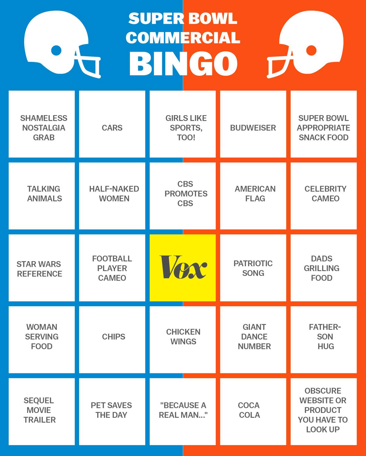 super bowl bingo 2