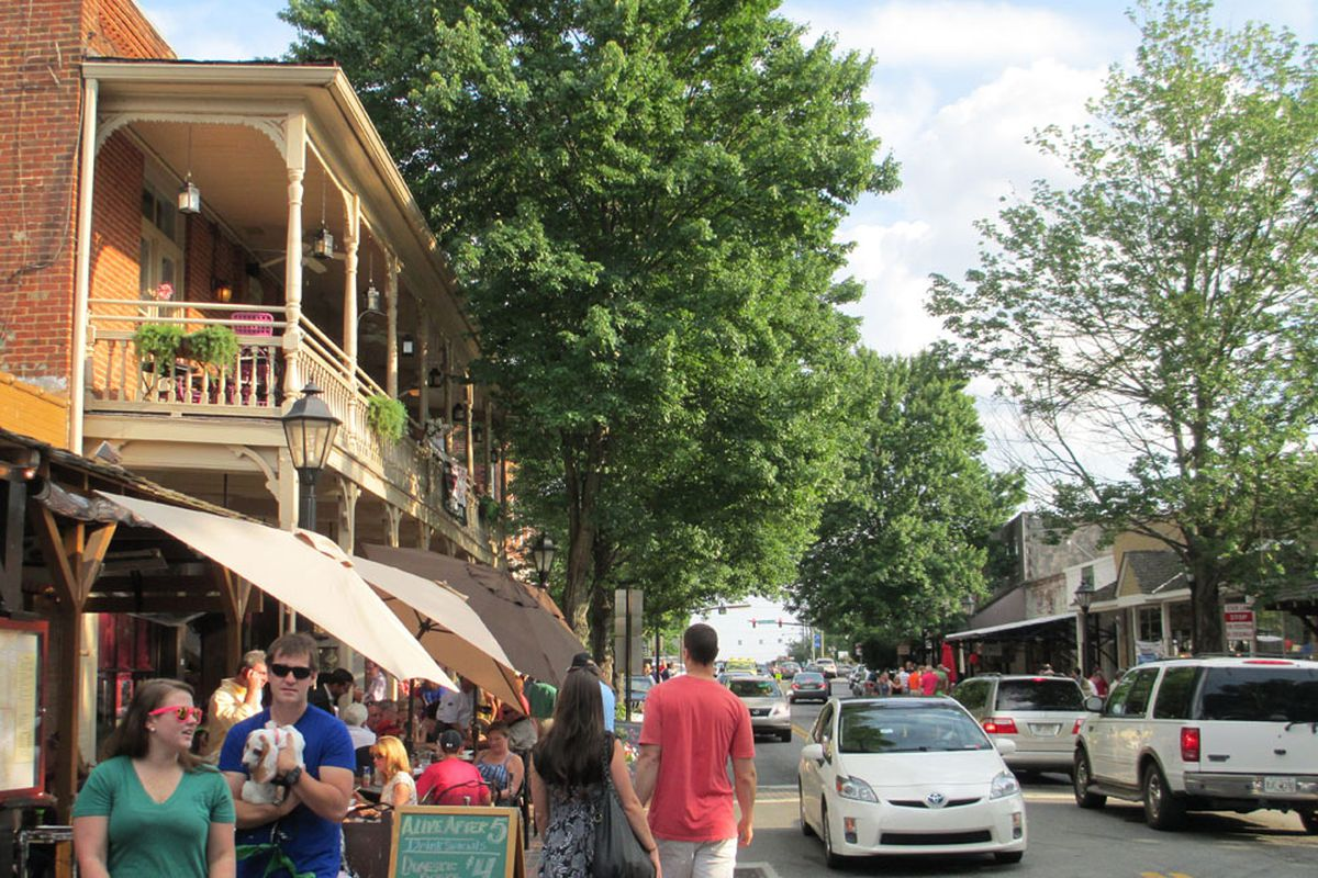 Canton Street The Place To Be Simply Buckhead