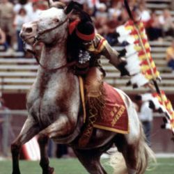 <strong>Probably 1979-81 Taking the field at Doak Campbell Stadium</strong>