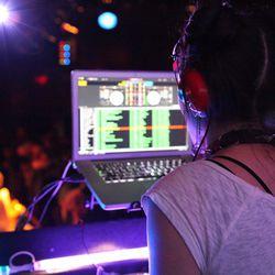 DJ Tamara Sky in action