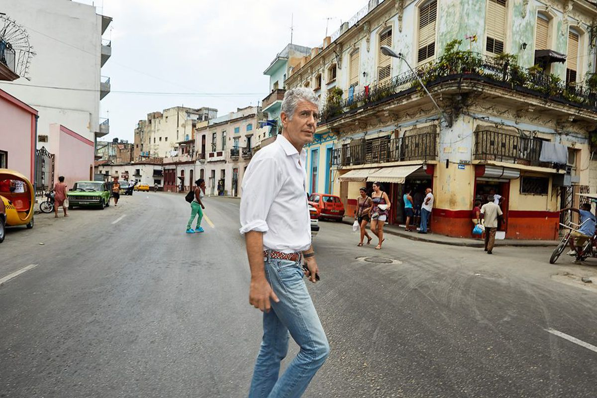 d16cc4eb Anthony Bourdain Talks Writing, Drug Addiction, and Living a Charmed Life