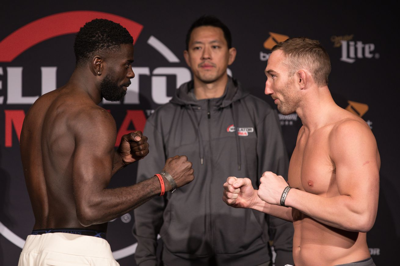 Chidi Njokuani and John Salter will compete in the Bellator 210 main event.