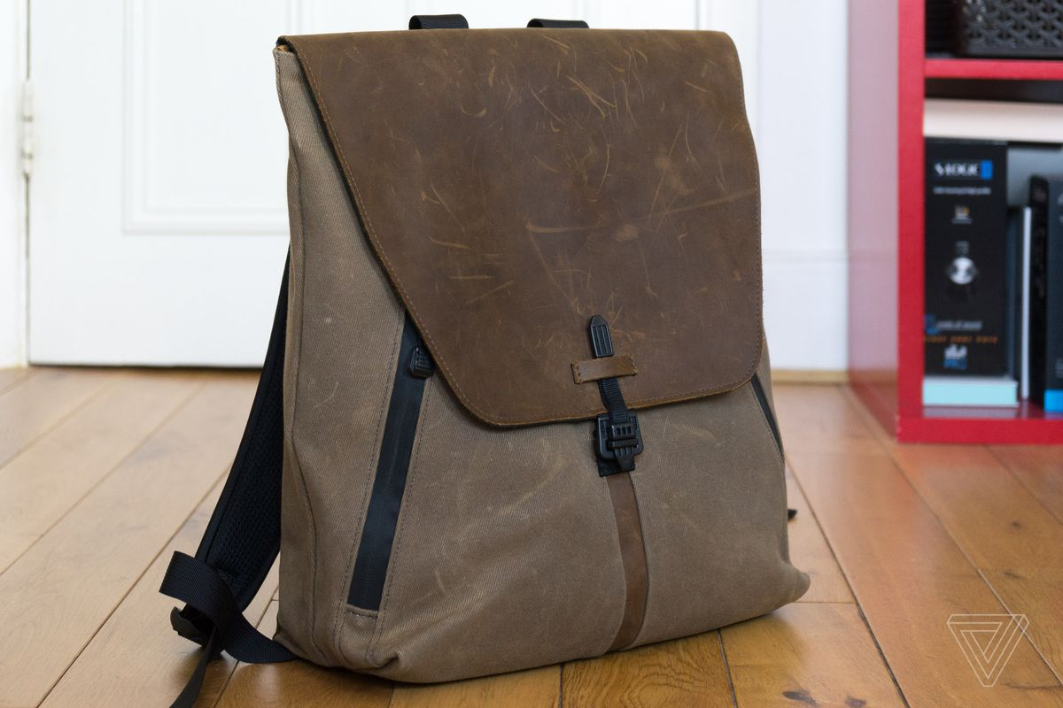 ab8b07773be1 The Staad and Bolt backpacks from Waterfield Designs are pricey and  peculiar