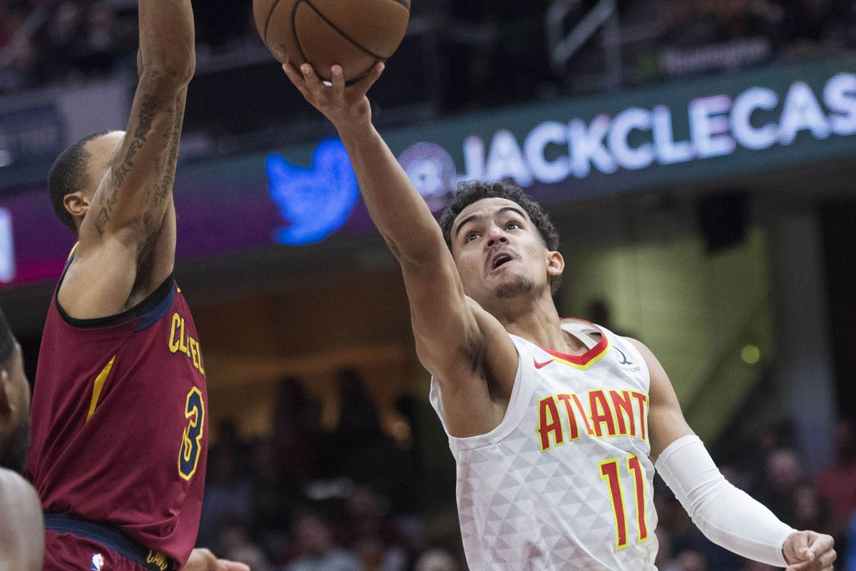 9c21ef6fe08a Trae Young explodes as Hawks down Cavaliers