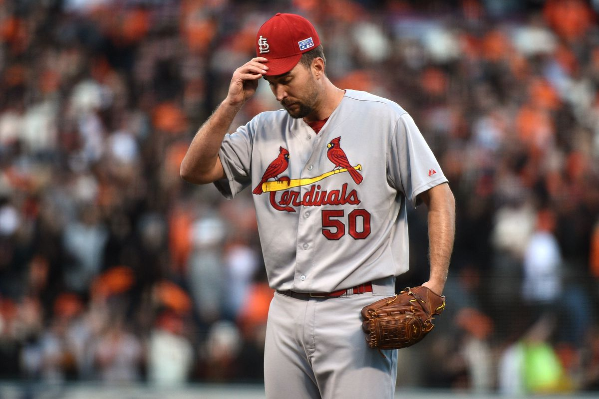 The Cubs now have a pitcher every bit the equal of -- and maybe better than -- Adam Wainwright. You can see he looks worried