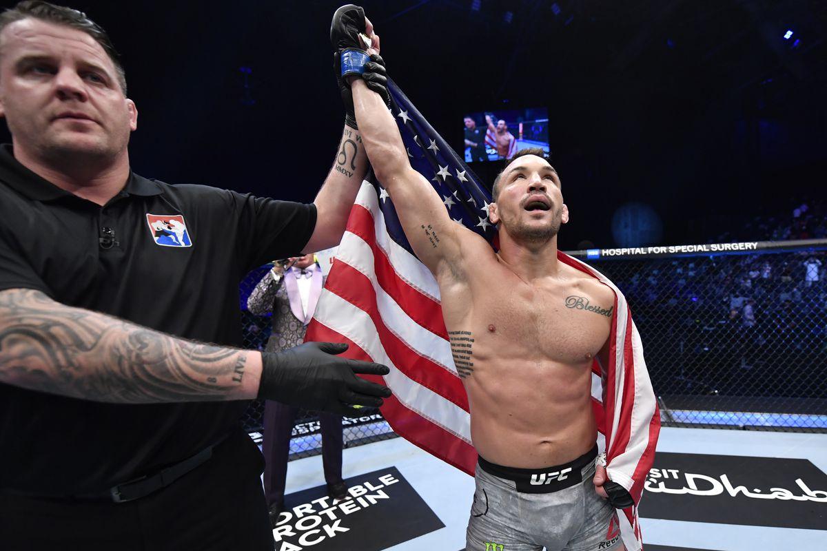 UFC 257: Hooker v Chandler