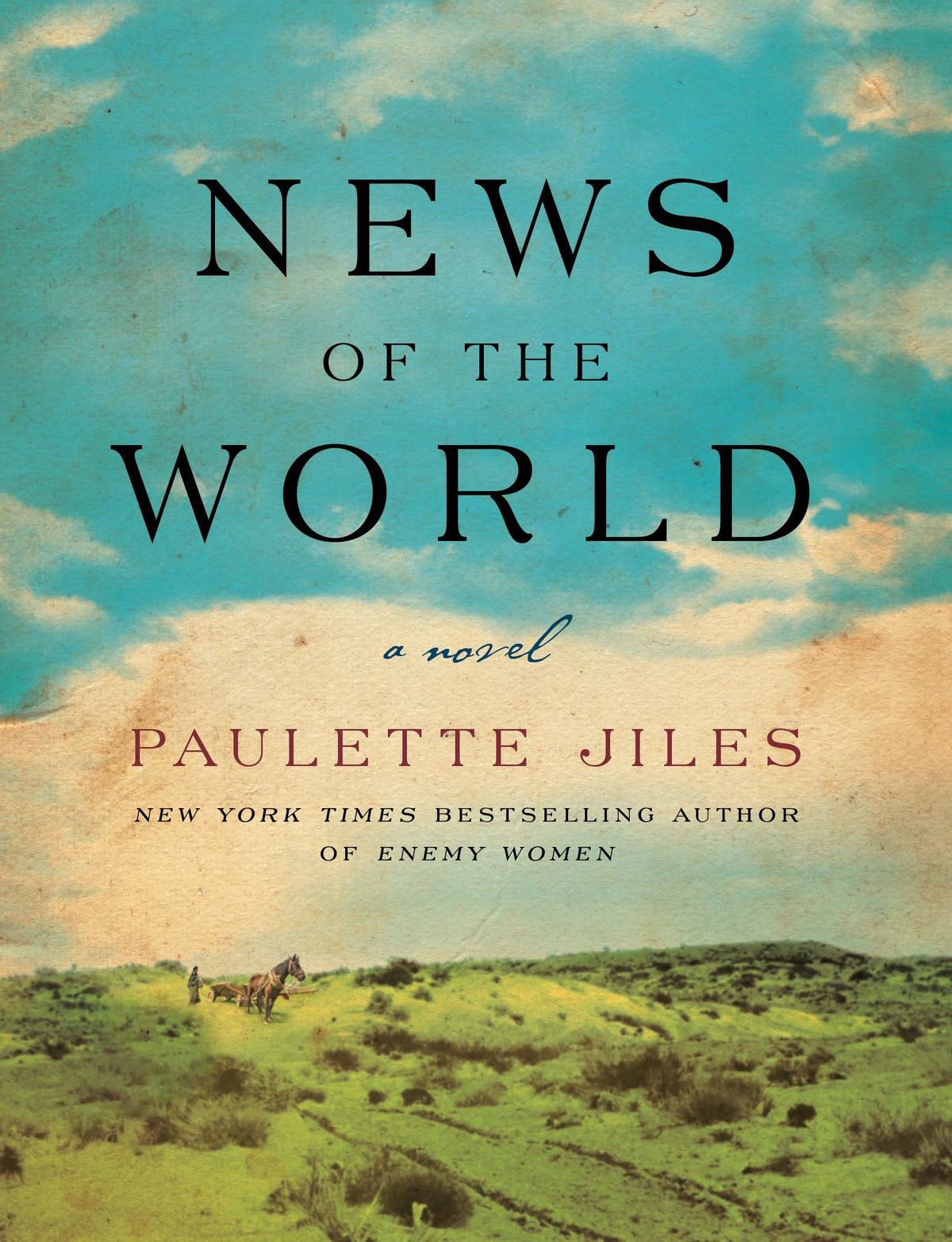 cover art for News of the World by Paulette Jiles
