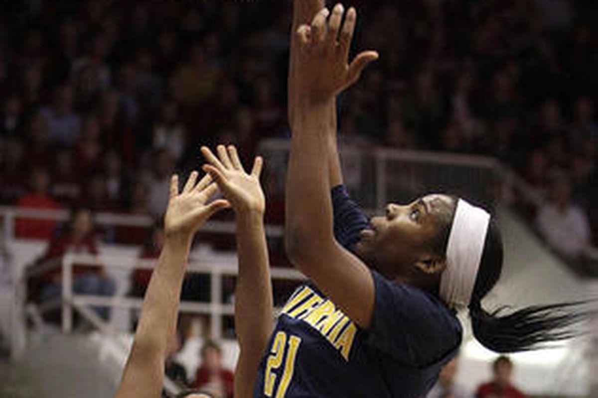 Can Cal's bigs win the battle inside tomorrow night? Photo Credit: Ben Margot/AP