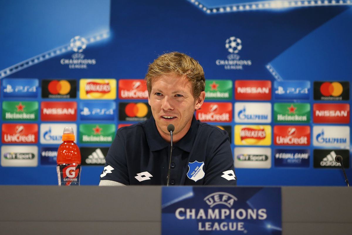 1899 Hoffenheim Training Session and Press Conference
