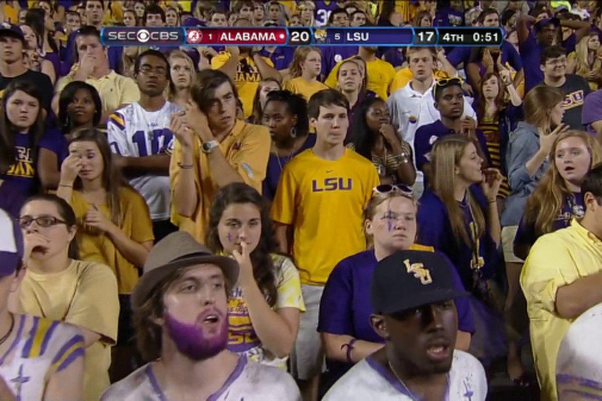 Sour student section is sour (and sad)