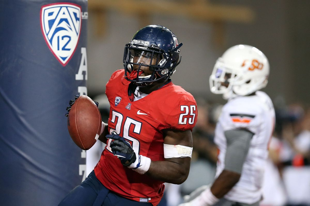 Ka'Deem Carey and crew get ready for the season-opener against Northern Arizona on Friday