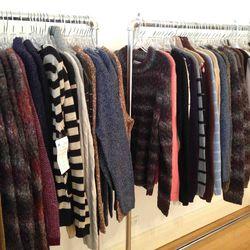 $85 sweaters