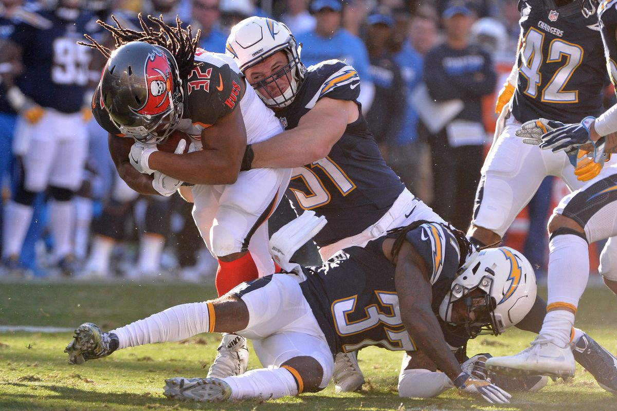 NFL: Tampa Bay Buccaneers at San Diego Chargers