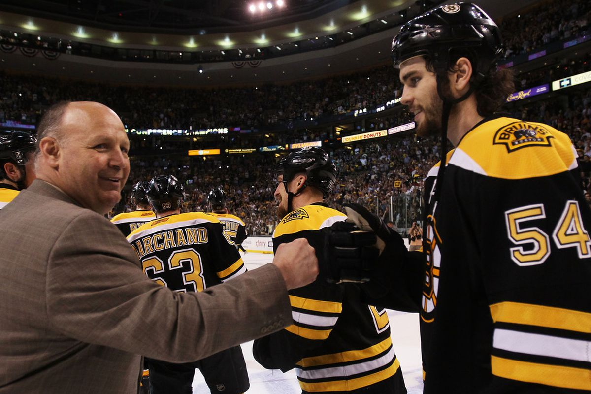 Fist bumps for everyone.