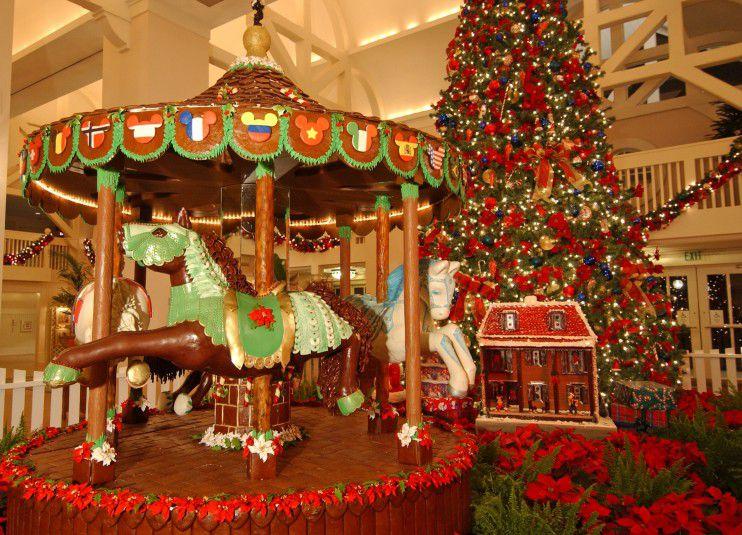 Disney Gingerbread Carousel