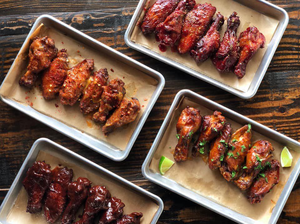 Chicken wings from Sweet Auburn BBQ