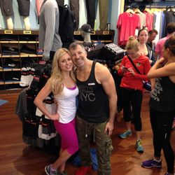 """<a href=""""http://shop.lululemon.com/home.jsp"""">Lululemon Athletica</a> at Westfield San Francisco Centre, 865 Market Street <br> I haven't worn one single pair of jeans this entire year. I live in fitness clothes, so I can never have enough Lulu! So happy"""