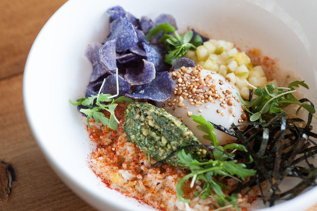 Baroo Kimchi Fried Rice