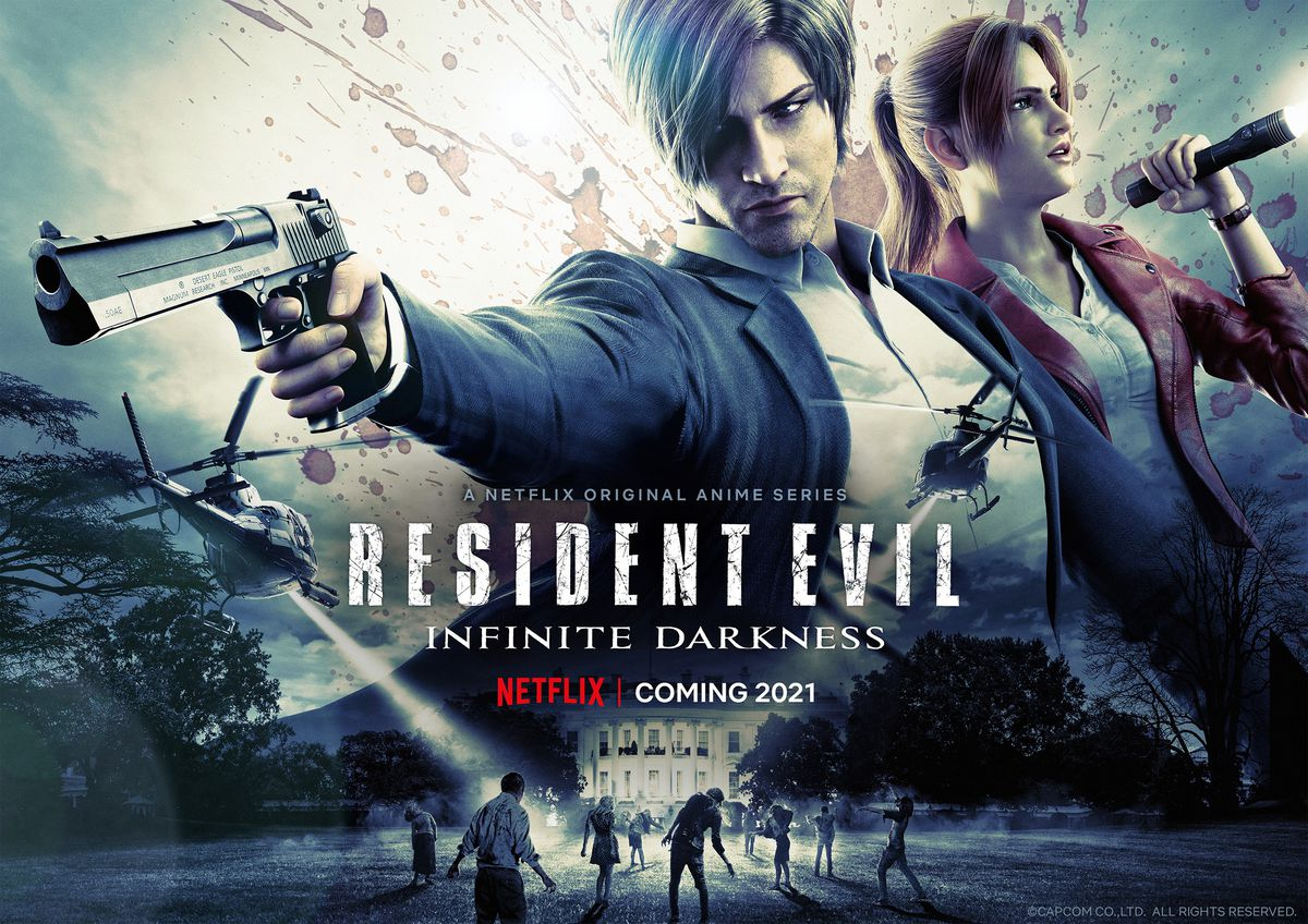 Promotional image for Netflix's Resident Evil: Infinite Darkness