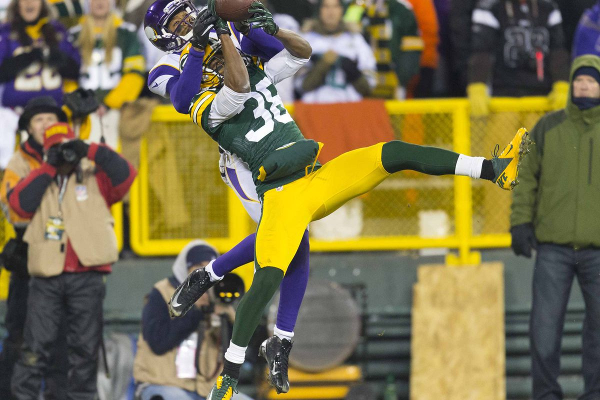 Pretty much sums up the Vikes' day.