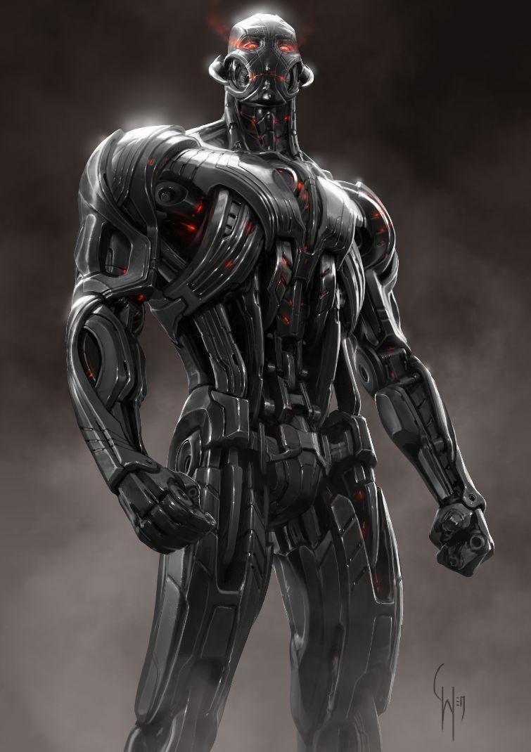Ultron concept art (ILM)
