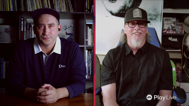 "Skate 4 developers Deran Chung and Chris ""Cuz"" Parry"