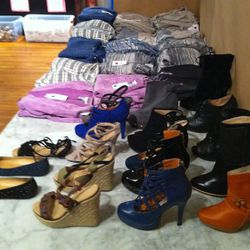 Knits for $50 and cute shoes running $30 to $50