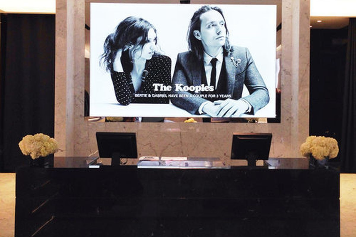 """Inside the new Los Angeles store, via <a href=""""http://la.racked.com/archives/2014/07/18/16_photos_inside_the_kooples_badass_west_coast_flagship.php"""">Racked LA</a>"""