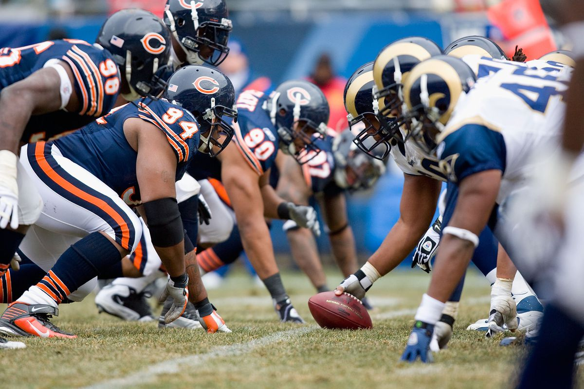 Chicago Bears v St. Louis Rams