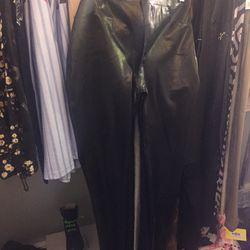 Latex pants, $25