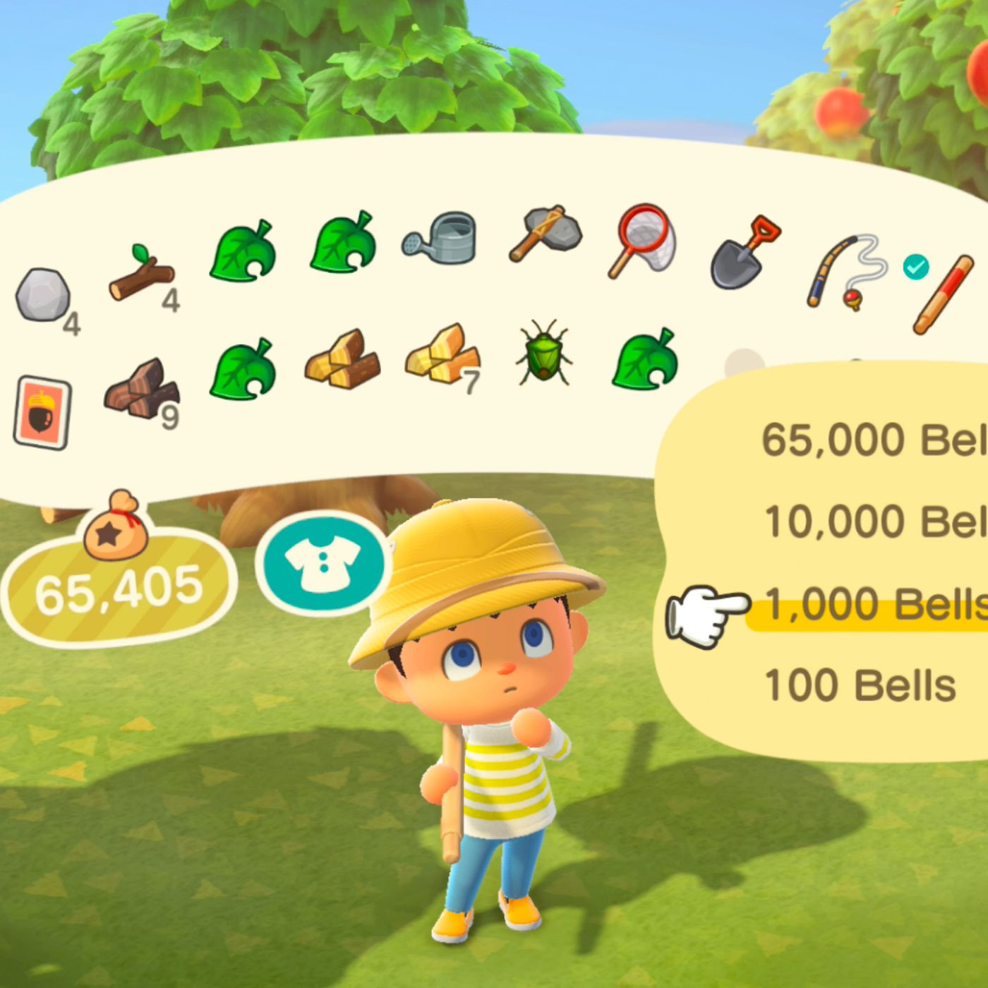 How To Plant Bells In Animal Crossing New Horizons Switch Polygon
