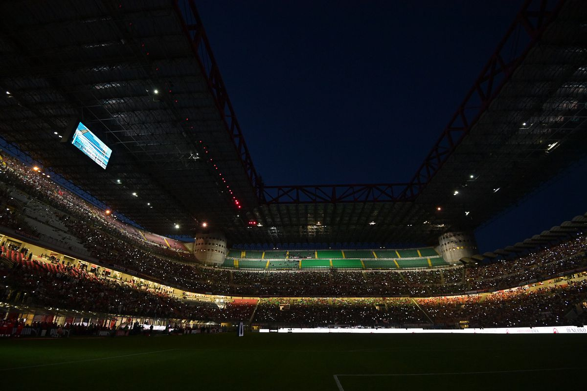 San Siro Stadium - AC Milan - Champions League