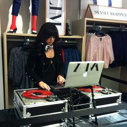 DJ getting the crowd pumped