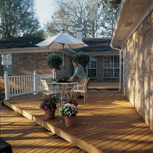 <p>AFTER: Most decks can be rejuvenated for a lot less than the cost of replacement.</p>