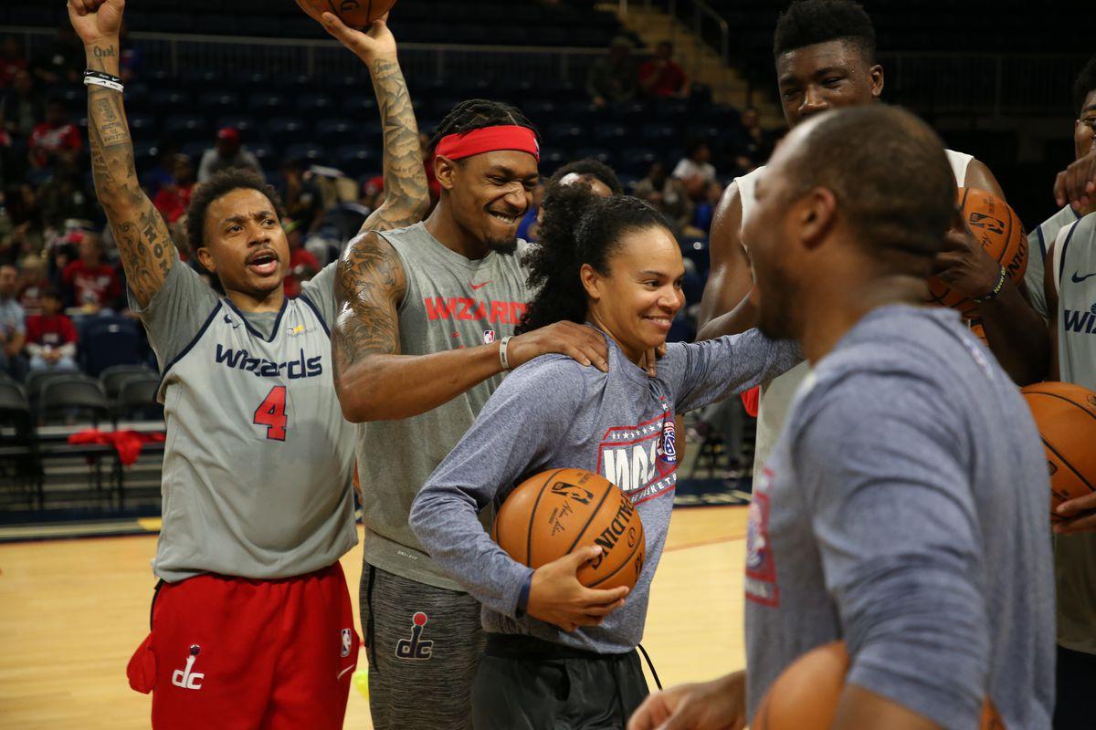 Washington Wizards Open Veterans Day Practice